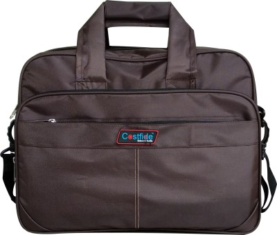 Costfide 15.6 inch Laptop Messenger Bag Brown Costfide Laptop Bags