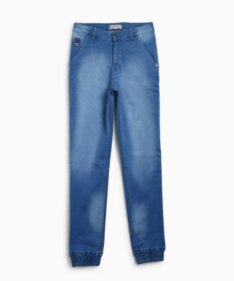 Palm Tree Regular Baby Boy's Blue Jeans