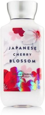 Bath & Body Works Japanese Cherry Blossom body lotion for women(250 ml)