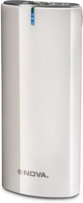 NOVA 15000 mAh Power Bank White, Lithium ion NOVA Power Banks