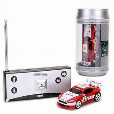 Webby Mini Coke Can Speed RC Radio Remote Controlled Micro Racing Car(Multicolor)