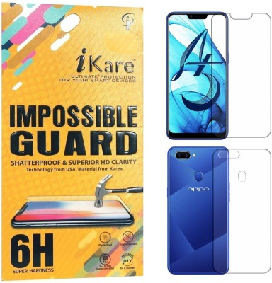 iKare Front and Back Screen Guard for OPPO A5(Pack of 1)