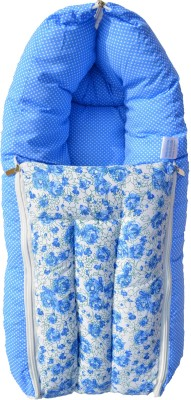 Younique 3 in 1 Pure Cotton Baby Bed Carrier/Sleeping Bag Sleeping Bag(Blue)