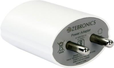 Zebronics ZEB-MA522 Mobile & Laptop Charger USB Adapter(White)  available at flipkart for Rs.269