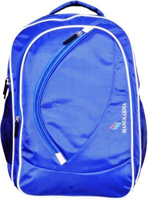 MANUKARMA MKPSPL BAG Waterproof Backpack Blue, 30 MANUKARMA Laptop Bags
