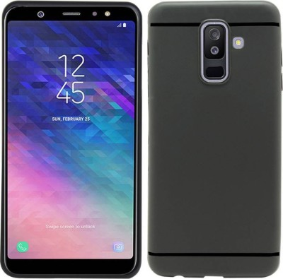 Mozette Back Cover for Samsung Galaxy A6 Plus Black