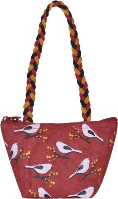 Jute Cottage Women Red Hand held Bag Jute Cottage Handbags