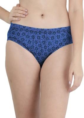 FEMULA Women Hipster Light Blue Panty(Pack of 1)