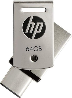 HP X5000M 64 GB OTG Drive(Silver, Type A to Type C)