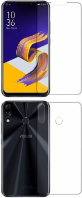 Discoverz Front and Back Screen Guard for Asus Zenfone 5Z(Pack of 1)