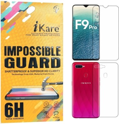 iKare Front and Back Screen Guard for OPPO F9 Pro(Pack of 1)