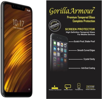 Gorilla Armour Impossible Screen Guard for POCO F1(Pack of 1)