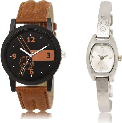 IIK Collection Silver-Brown-49 Watch  - For Women