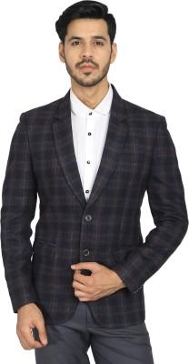 DIGIKEIN Checkered Single Breasted Casual Men Blazer(Multicolor) Flipkart