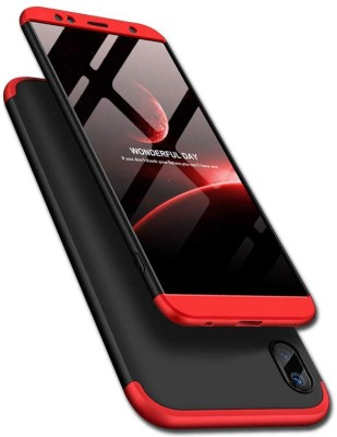 BACKLUND Back Cover for Asus Zenfone Max Pro M1 60 Degree Protection Hybrid Hard Bumper(Red, Hard Case, Plastic)