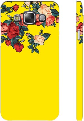 Picwik Back Cover for Samsung Galaxy E5 Yellow, Waterproof