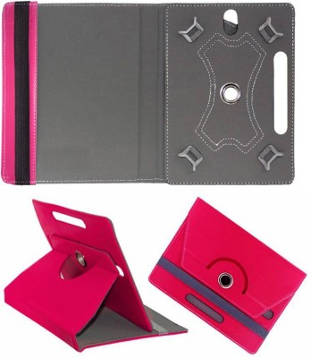 Cutesy Flip Cover for Iberry Bt07 7inch Bt-07 7.0(Pink, Cases with Holder)