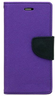 Shopsji Flip Cover for Samsung Galaxy S6 Edge Purple, Waterproof