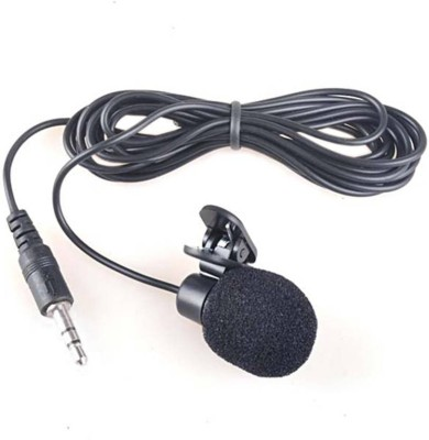 Mezire 3.5mm Clip Microphone For Youtube by Techlicious   Collar Microphone   Lapel Microphone Mobile, PC, Laptop, Android Smartphones Microphone