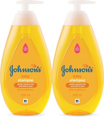 Johnson's New No More Tears Shampoo 500 ml (Pack of 2) Baby Boys & Baby Girls  (1000 ml)