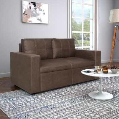 @home by Nilkamal Fabric 2 Seater Sofa(Finish Color - Warm Mocha)
