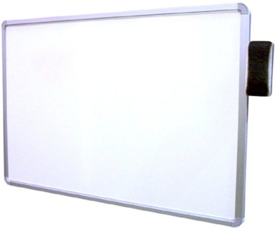 VRAI Non Magnetic Superior Quality 2x1.5 feet Low Maintenance and Non-Fading Surface Whiteboards(Set of 0, White)