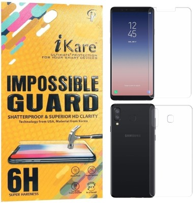 iKare Front and Back Screen Guard for Samsung Galaxy A8 Star(Pack of 2)
