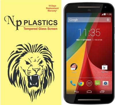 npplastics Tempered Glass Guard for Motorola moto G2(full body cover Glass)(Pack of 1)