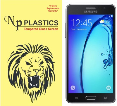 npplastics Tempered Glass Guard for Samsung Galaxy On5/On5Pro(full body cover Glass)(Pack of 1)