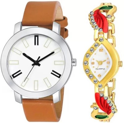 PARALLEL TIMES Presenting the Formal+Party Wedding Collection For Couples with Best Price Watch  - For Men & Women