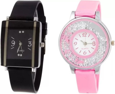 parallel times Presenting the PU Belt Simple Watch For Casual+Formal For Women n Girls Watch  - For Women