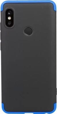 Flipkart SmartBuy Back Cover for Mi Redmi Note 5 Pro(Blue, Black, Polycarbonate)
