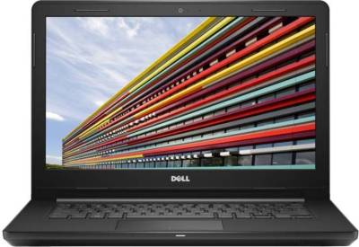 Image of Dell Inspiron Core i3 7th Gen Laptop which is one of the best laptops under 25000