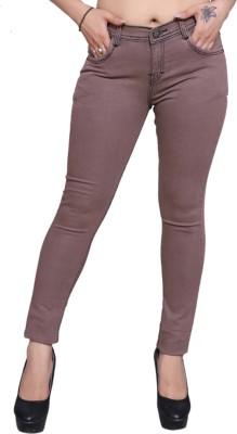 Nifty Slim Women Brown Jeans