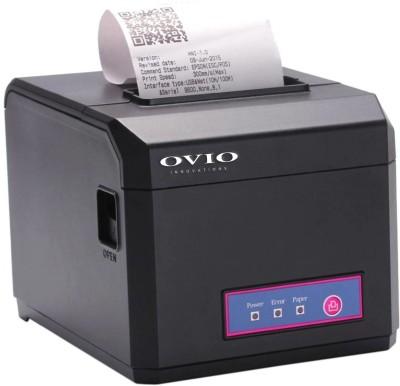 OVIO 80mm USB + LAN POS Printer with 300mm/sec Ultra High-speed Printing , Auto Cutter for Restaurants, Kiosks Thermal Receipt Printer