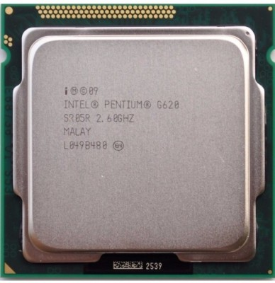 Intel 2.6 LGA 1155 620 Processor(Silver) at flipkart