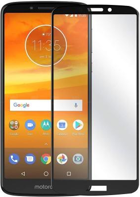 Classy Edge To Edge Tempered Glass for Motorola Moto E5(Pack of 1)