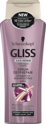 Schwarzkopf Gliss Hair Repair with Liquid Keratin serum Deep Repair Shampoo 250 ml(250 ml) Flipkart