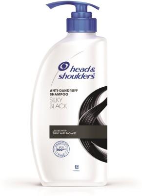 Head and Shoulders Silky Black Shampoo 675ml