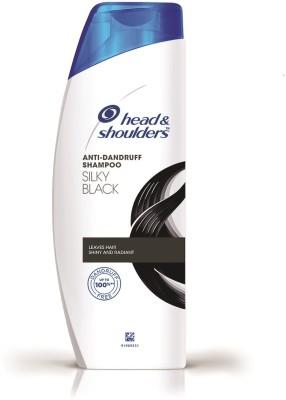 Head and Shoulders Silky Black Shampoo 180ml