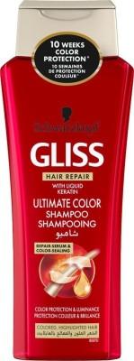 Schwarzkopf Gliss Hair Repair With Liquid Keratin Ultimate Color Shampoo 250 ml(250 ml) Flipkart