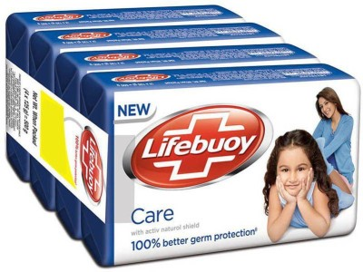 Lifebuoy Care 125g (pack of 4)(4 x 31.25 g)