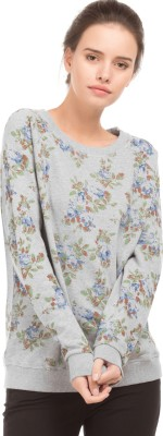 U.S. Polo Assn Full Sleeve Printed Women Sweatshirt at flipkart