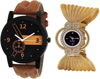 parallel times Presenting the Gold Chain With White Dial Party-Wedding With Best Price For Girls Watch  - For Women