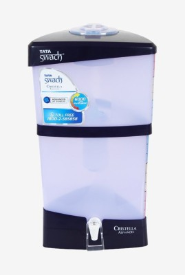 Tata Swach Cristella Advance+ Violet 18 Gravity Based Water Purifier(Violet)