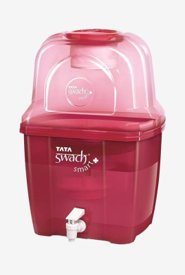 Tata Swach Smart Plus 15 L Gravity Based Water Purifier(Red)