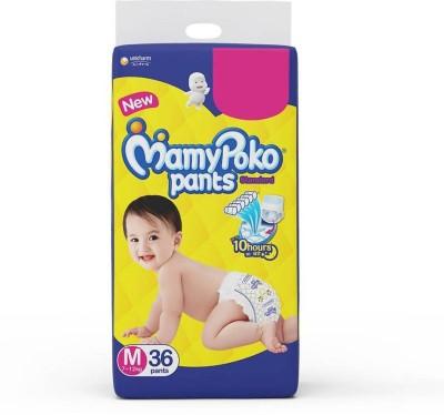 MamyPoko Standard M 36 Pants Daipers   M MamyPoko Baby Diapers