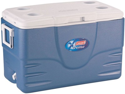 Coleman 52QT/49 ltr Xtreme Cooler (Blue) Outdoor Camping Ice Box Cooler ice cooler box(Blue, 82 L)