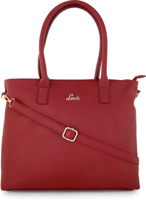 Lavie - Anushka collection Women Red Tote at flipkart