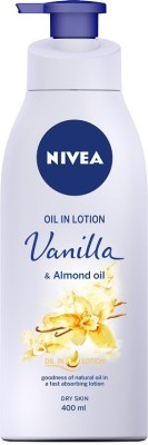NIVEA Oil in Lotion Vanilla & Almond Oil 400ml(400 ml)
